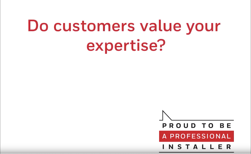 Resideo asks: Do customers value your expertise?
