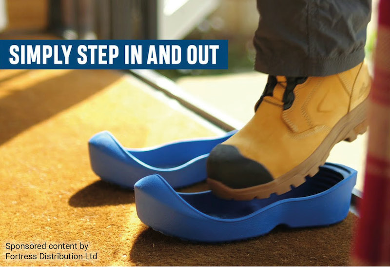 VIDEO: See Yuleys reusable overshoes in action