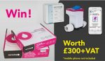Win a bundle of water control equipment!