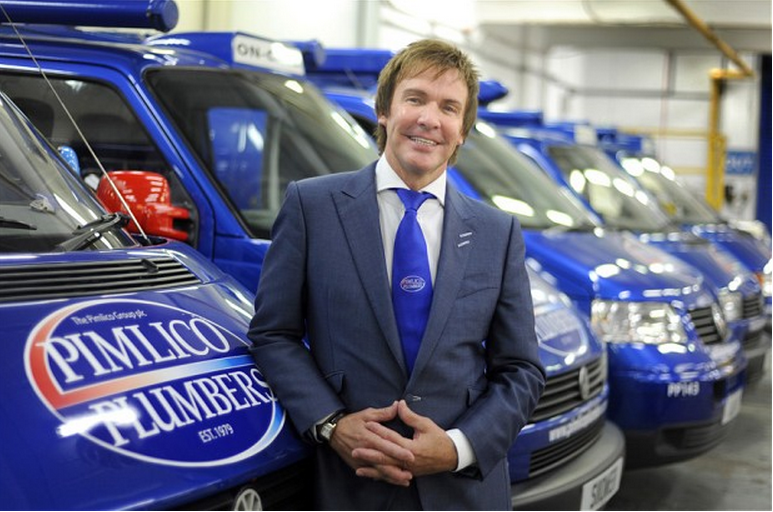 Pimlico Plumbers boss makes a case for the EU