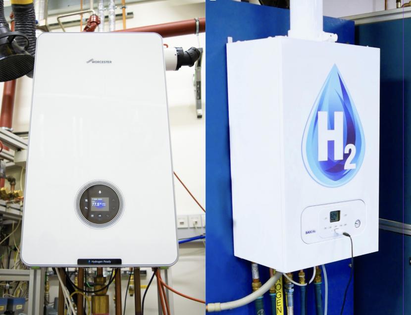Hydrogen boilers ready to go on field trials