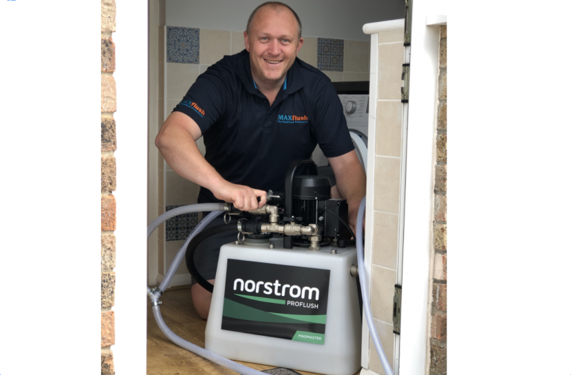 Specialist powerflushing service for busy installers