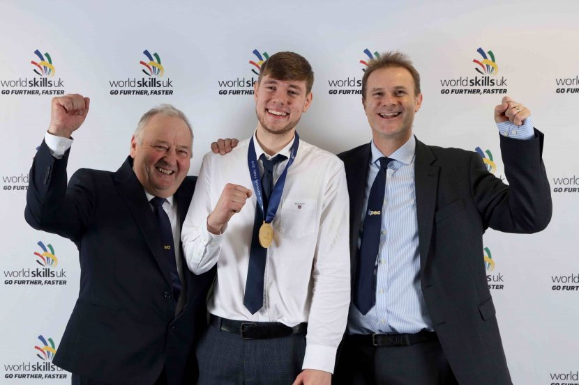 Gold medal winner for SkillPLUMB 2019