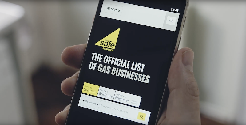 Gas Safe Register launches new ad campaign