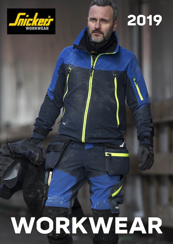 Clothing  innovations in the 2019 Snickers Workwear catalogue