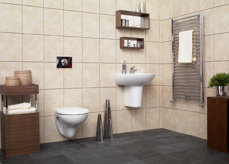 Step by step for concealed sanitary system