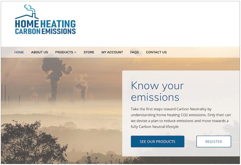 Comparative carbon emissions service