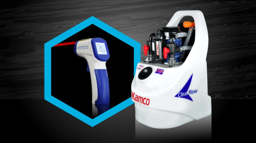 Free infrared thermometer offer from Kamco