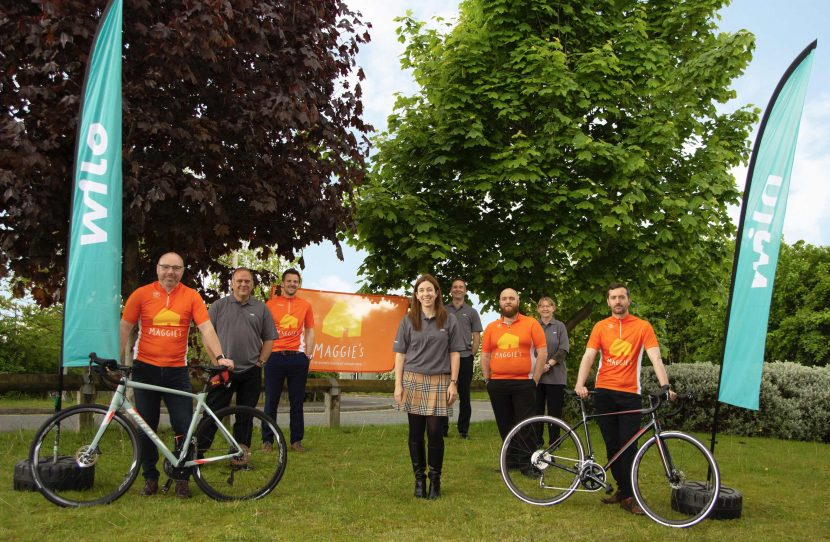 Cancer charity cycle challenge
