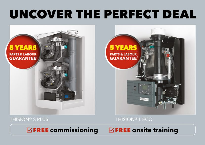 Light commercial boiler promotion