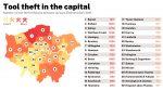 Thieves targeting power tools in London