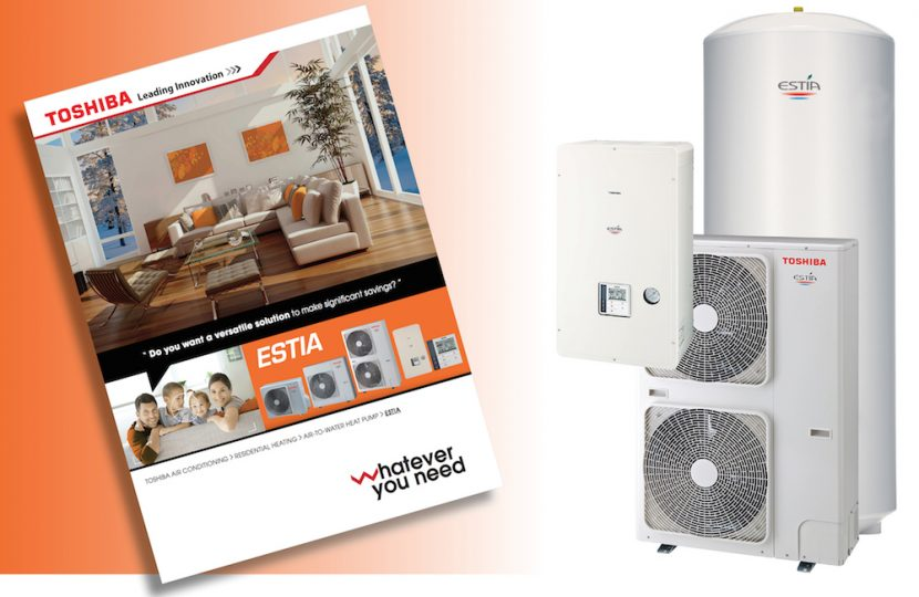 Latest generation of ESTÍA  heat pumps in new brochure