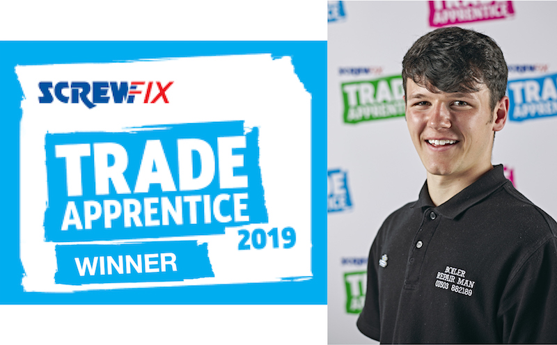 Apprentice winner announced by Screwfix