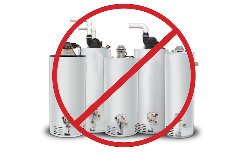 New regulation sees water heaters withdrawn from sale