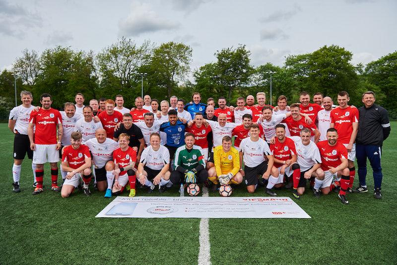 'Vriendly' football match returns to Huddersfield Town