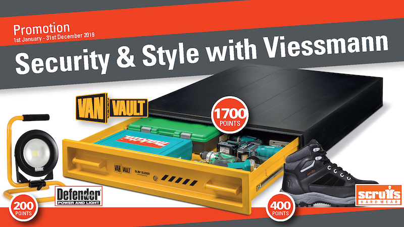 Win security products in new promotion