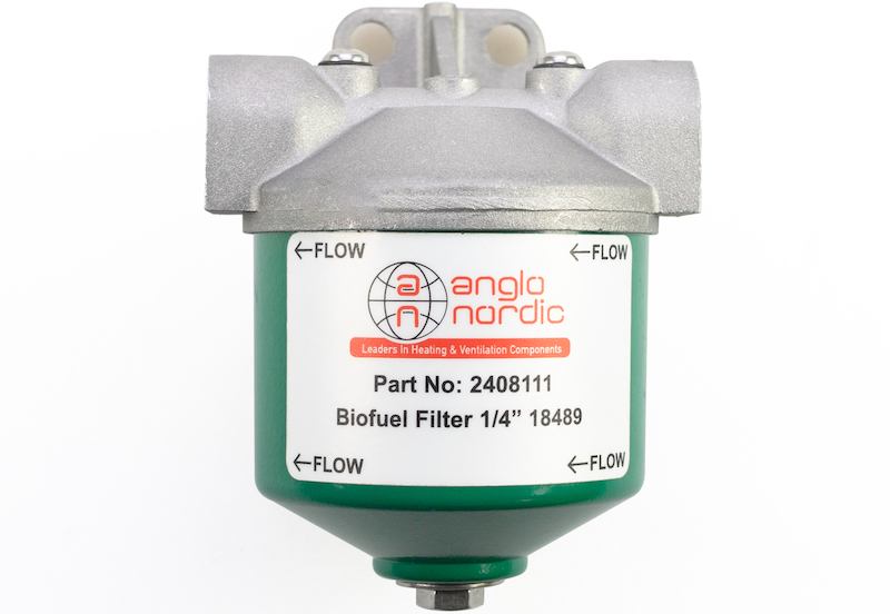Drip-free oil filter for mess-free work