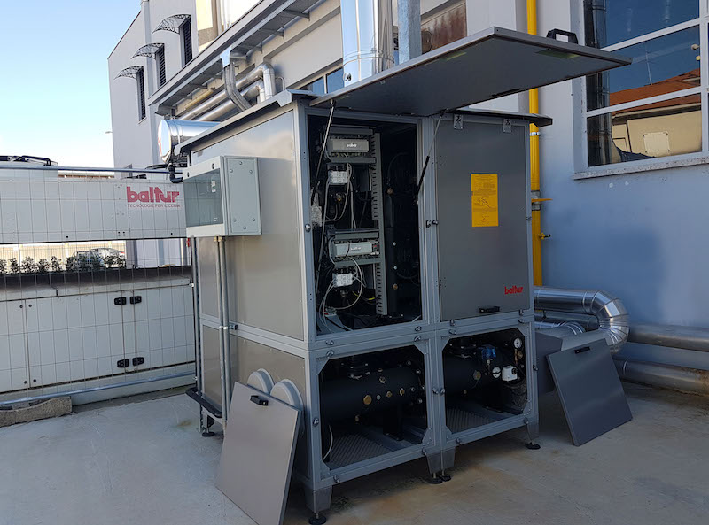 Commercial boilers can be sited outside
