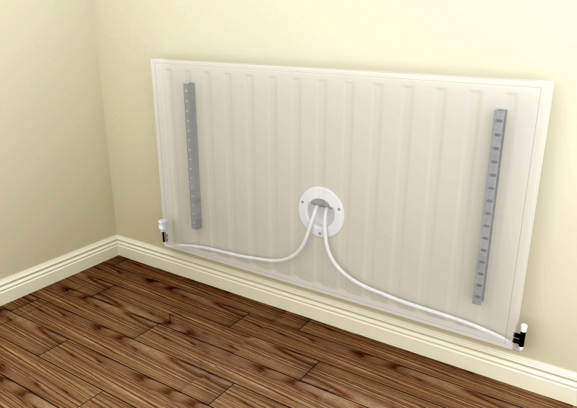 Air barrier reduces air leakage in radiators