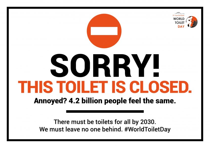 Support for sustainable sanitation