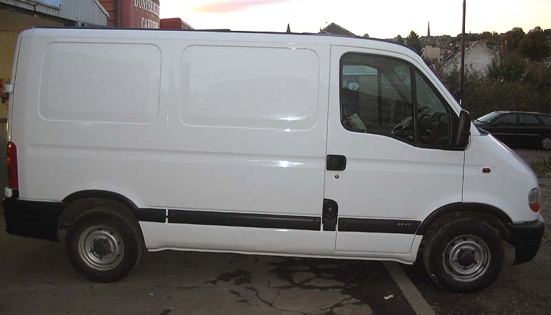 Trades opt for unbranded vans to prevent theft