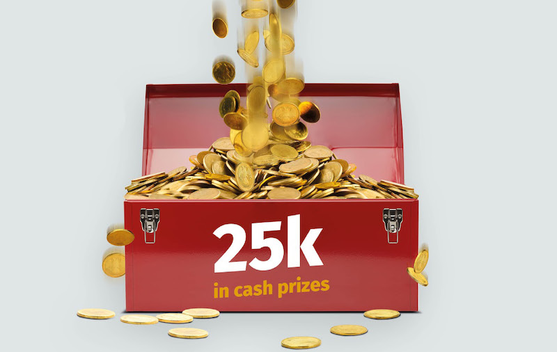 Chance to win some cold hard cash