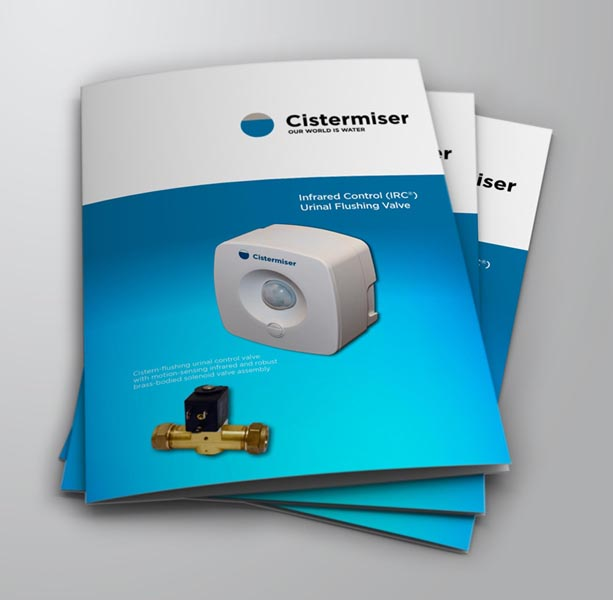 New sales brochure presents the Cistermiser infrared urinal control valve