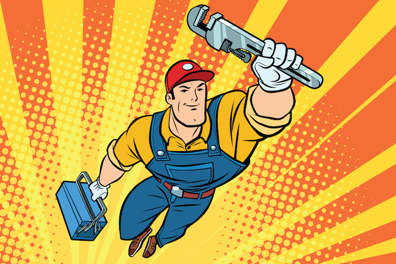 Celebrating the sanitary superheroes