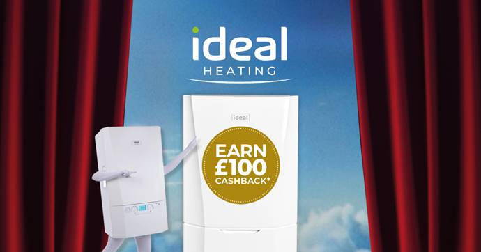 Cashback incentive from Ideal Heating