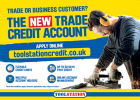 Trade credit accounts now available at Toolstation