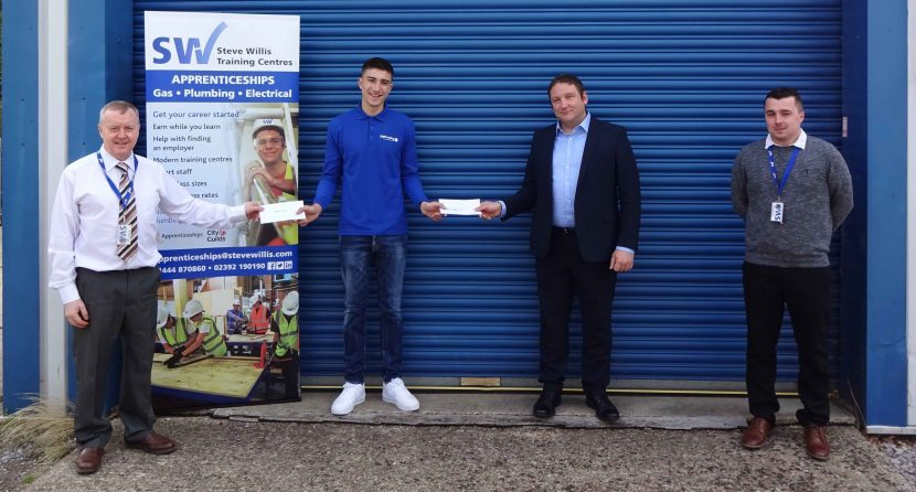 Reward for Apprentice of the Year finalist