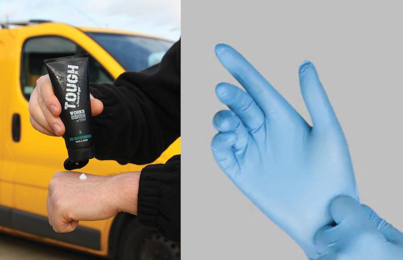 Do gloves provide enough protection?