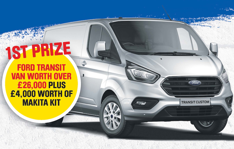 Chance to win a new van