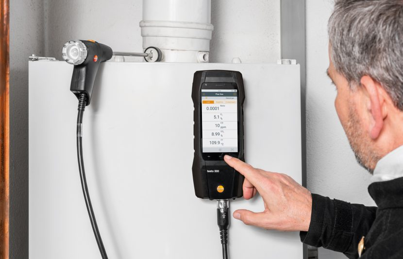 New offers in Testo flue gas analysers