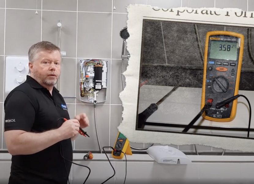 Videos offer troubleshooting tips for showers